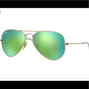 Ray-Ban Aviator Flash Lense Sunglasses